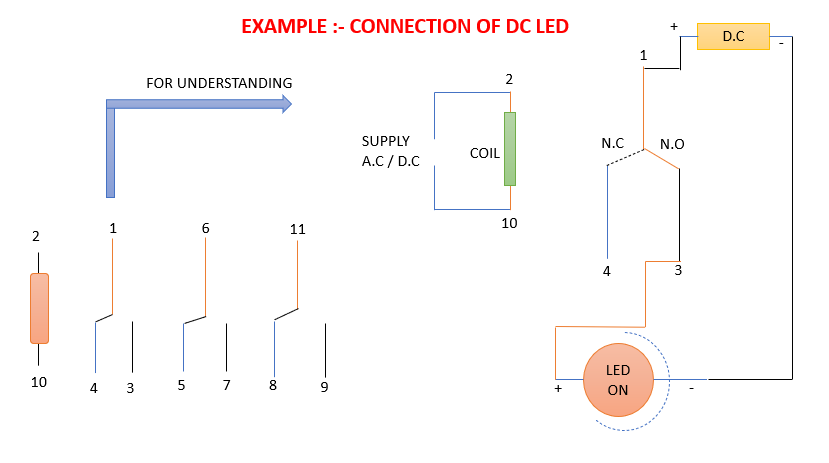 11 PIN RELAY CONNECTION